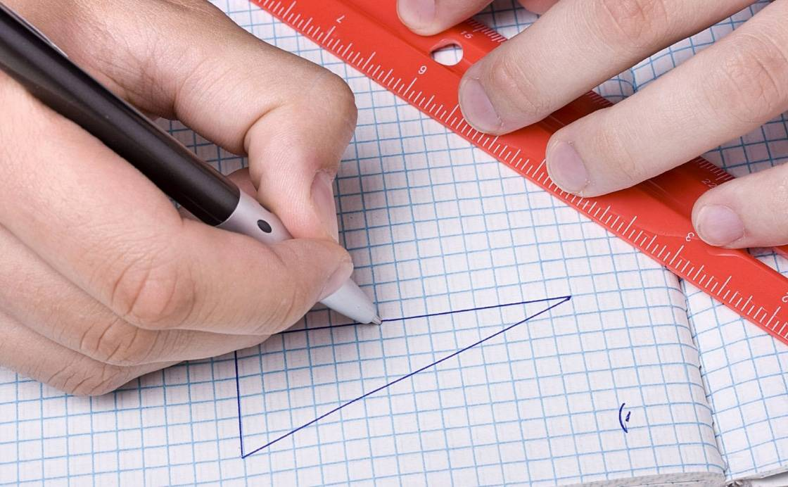 Geometry homework: fighting mistakes with a useful guide